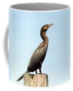 Comorant And Blue Sky Coffee Mug