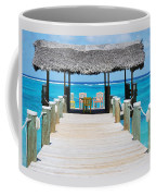 Tranquility At Compass Point, Nassau, Bahamas Coffee Mug
