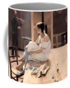 Completed Sitting Coffee Mug