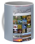 Composite Of Photographs From Various Coffee Mug