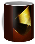 Composition In Gold Coffee Mug