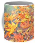 Computer Generated Image Of Autumn Coffee Mug