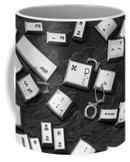 Computer Keys Coffee Mug