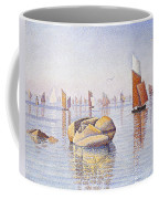 Concarneau   Quiet Morning Coffee Mug by Paul Signac