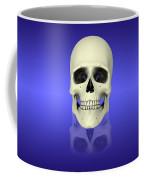 Conceptual View Of Human Skull Coffee Mug by Stocktrek Images