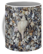 Conch Among A Sea Of Shells Coffee Mug
