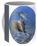 Conch And Ladyfish, 2001 Pair Coffee Mug