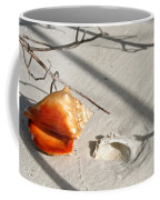 Conch With Shell In Sand I Coffee Mug