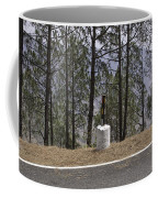 Concrete Pillar On A Highway Coffee Mug