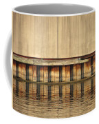 Concrete Wall And Water 1 Coffee Mug