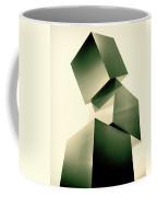 Condescending Cubes Coffee Mug by Bob Orsillo