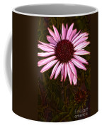 Coneflower And Dusty Miller Hdr Coffee Mug