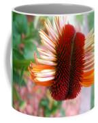 Coneflower Bloom Unspiraling Coffee Mug