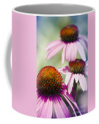 Coneflower Jewel Tones - Echinacea Coffee Mug
