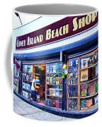 Coney Island Beach Shop Coffee Mug