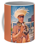 Coney Island Snake Man Coffee Mug