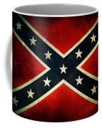 Confederate Flag Coffee Mug by Les Cunliffe