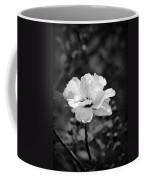 Confederate Rose Bw Coffee Mug