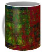 Confetti - Abstract - Fractal Art Coffee Mug