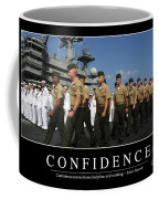 Confidence Inspirational Quote Coffee Mug by Stocktrek Images
