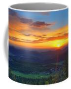 Conifer Sunrise Coffee Mug