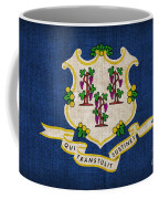 Connecticut State Flag Coffee Mug by Pixel Chimp