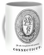 Connecticut State Seal Coffee Mug