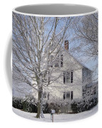 Connecticut Winter Coffee Mug by Michelle Welles