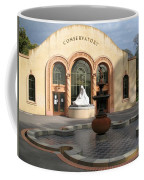 Conservatory Gardens Sunny Facade Coffee Mug