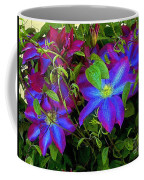 Constance's Clematis Coffee Mug