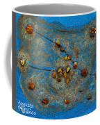 Constellation Of Taurus Coffee Mug by Augusta Stylianou