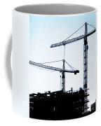 Construction Cranes Coffee Mug