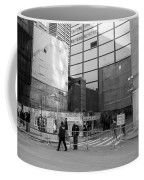 Construction In Black And White Coffee Mug