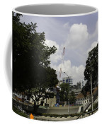 Construction Work Ongoing In Singapore Coffee Mug
