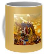 Constructors Of Time Coffee Mug by Henryk Gorecki