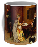 Consulting Her Lawyer Coffee Mug