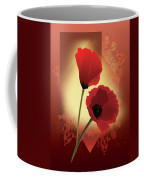 Contemporary Wild Poppies Coffee Mug