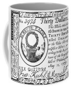 Continental Banknote, 1775 Coffee Mug