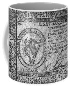 Continental Currency, 1777 Coffee Mug