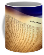 Contract Coffee Mug by Olivier Le Queinec