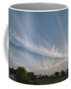Contrail Clouds Coffee Mug