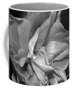 Contrasting Hibiscus Coffee Mug