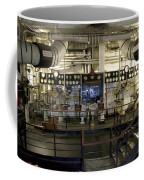 Control Board Engine Room Queen Mary Ocean Liner Long Beach Ca Coffee Mug