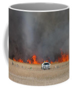 Controlled Burn And Brush Truck Coffee Mug