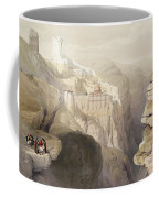 Convent Of St. Saba, April 4th 1839 Coffee Mug