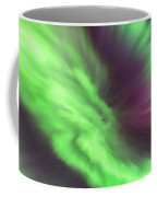 Converging Curtains Of Aurora Coffee Mug