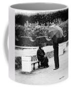 Conversation In The Rain Coffee Mug
