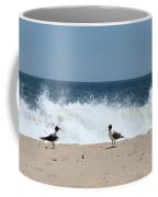Conversation On The Beach Coffee Mug