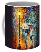 Conversation - Palette Knife Oil Painting On Canvas By Leonid Afremov Coffee Mug
