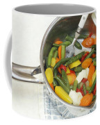 Cooked Mixed Vegetables Coffee Mug